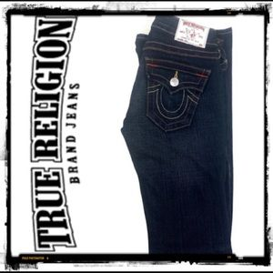 True religion jeans like new Joey dark denim